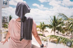 """Das ideale Reisehandtuch Packtowl """"Luxe Towel"""" im Test"""
