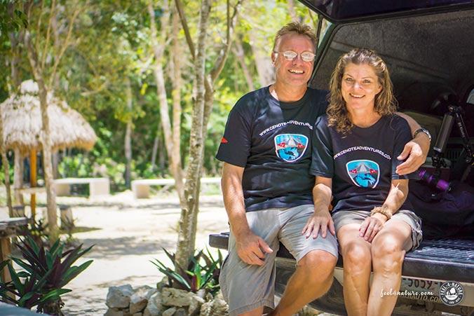 Cenote Adventures Team