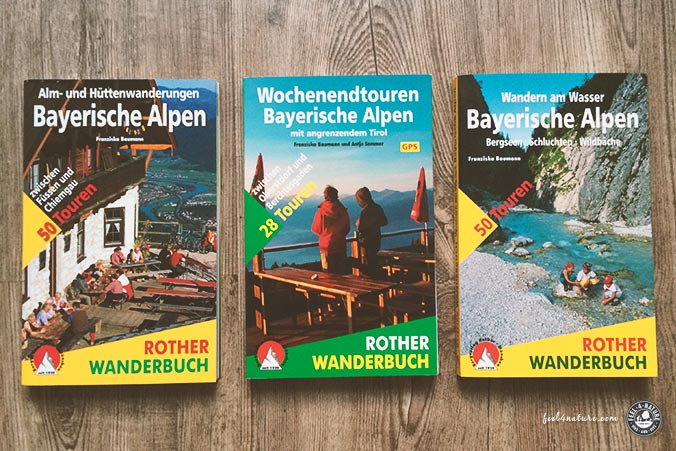 Geschenke Wanderer Bücher
