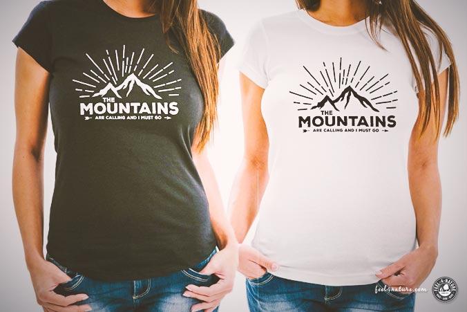 T-Shirt Wandern Geschenk