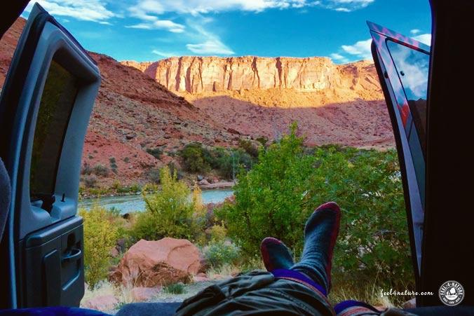 Camping Moab USA