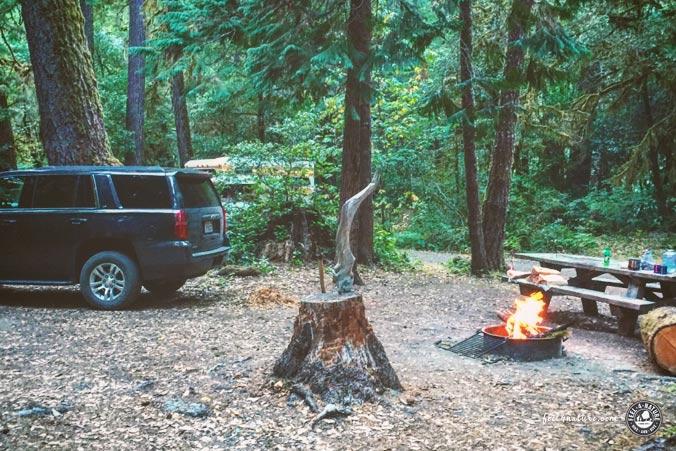USA Road Trip Camping