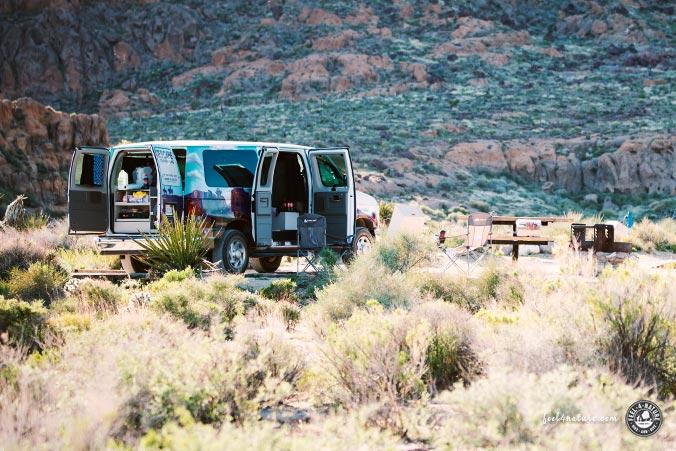 Escape Mavericks Camper