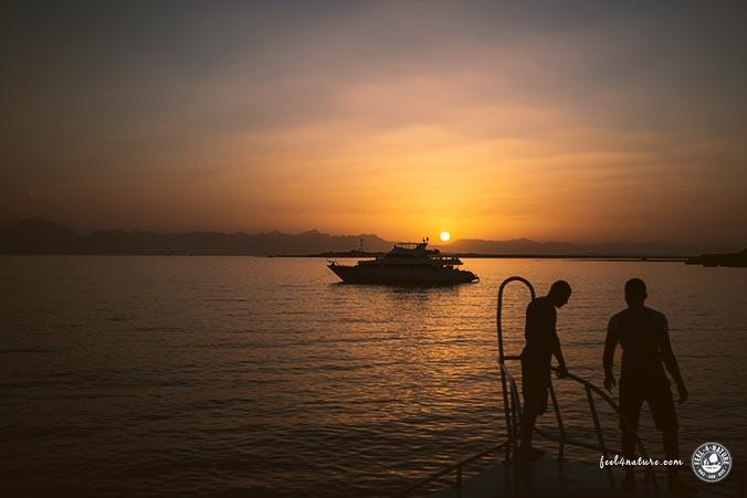 Übernachten Boot