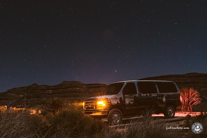 Übernachten Wüste