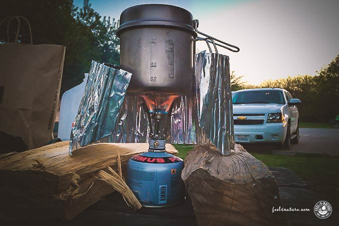 Camping Packliste Gaskocher