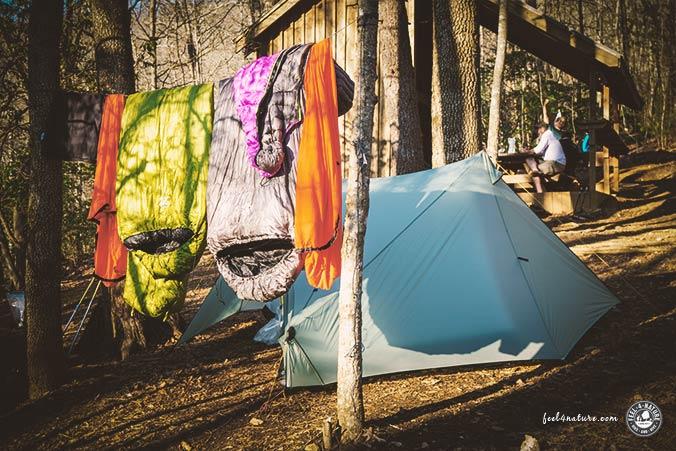 Camping Packliste Schlafsack