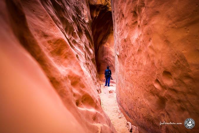 Leprechaun Canyon Wanderung Ende