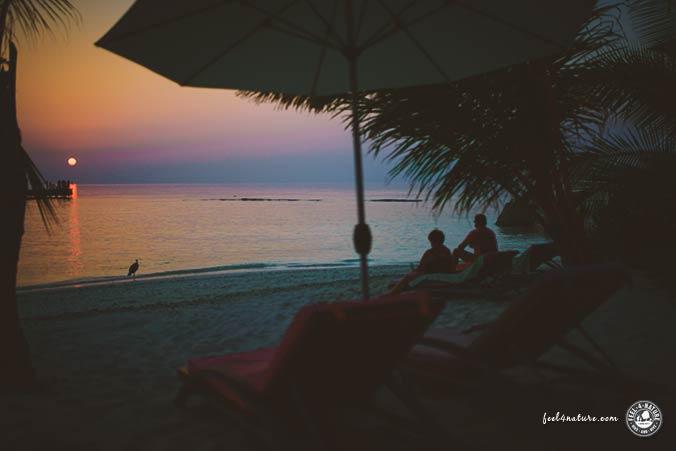 Sonnenuntergang OBLU Helengeli