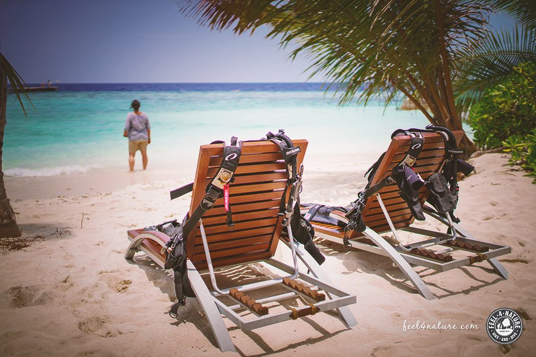 OBLU Helengeli Taucherinsel Malediven