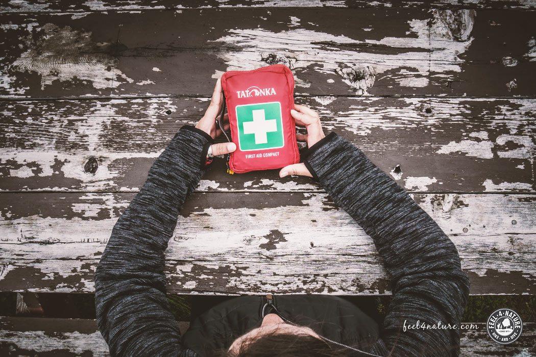 Outdoor Erste Hilfe Spickzettel