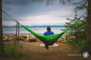 Die beste Outdoor Hängematte zum Reisen, Camping & Wandern