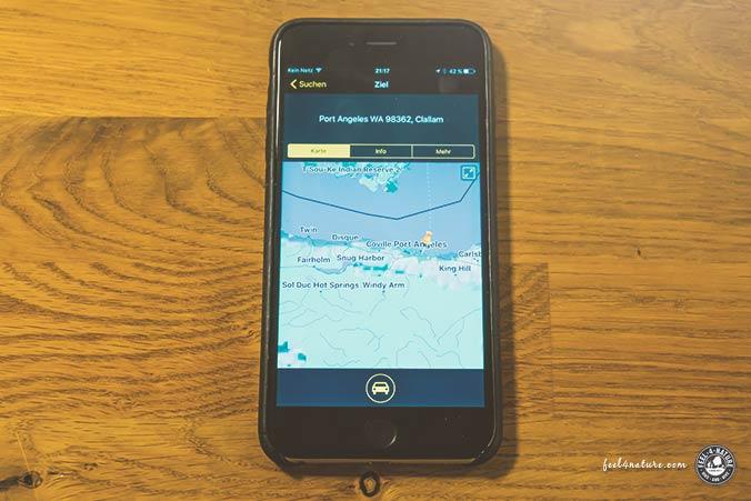 Navigon USA Reise App