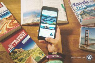 USA Reise App iPhone