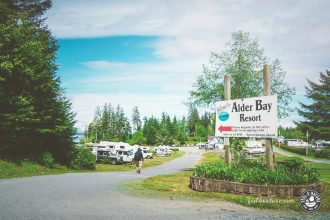 Vancouver Island Campingplatz
