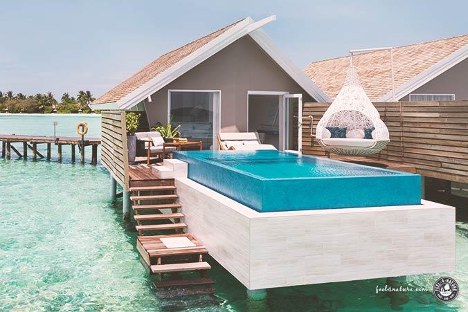 Wasserbungalow LUX Malediven