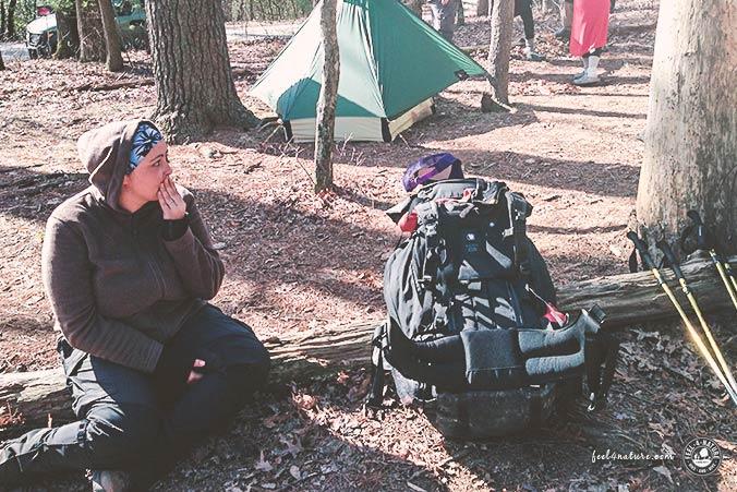 Trekkingrucksack Frauen 65l