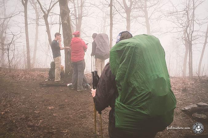 Regenschutz Trekkingrucksack