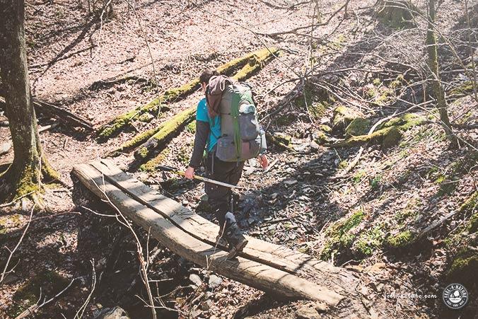 Trekkingrucksack Frauen Ultraleicht