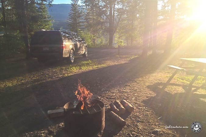 Kanada Natur Camping