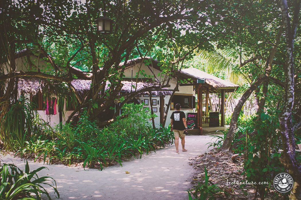 Tauchbasis Reethi Beach Malediven