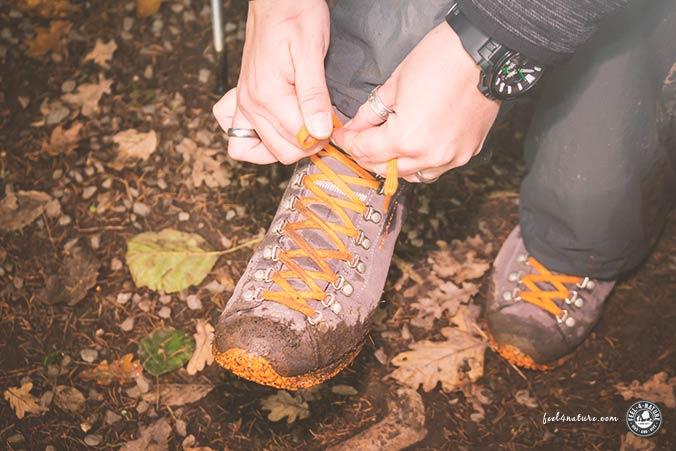 Scarpa Schuh Test