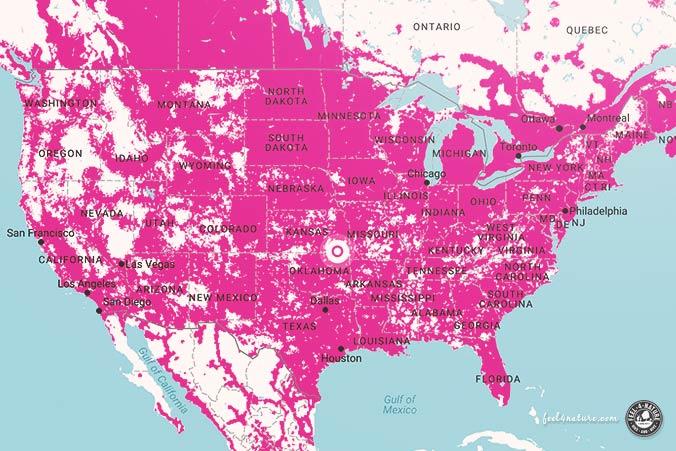 T-Mobile USA Netzabdeckung