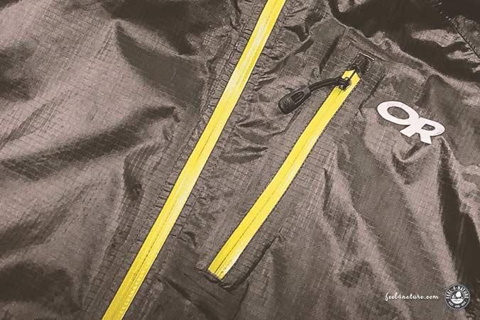 Reissverschluss Helium II Jacket