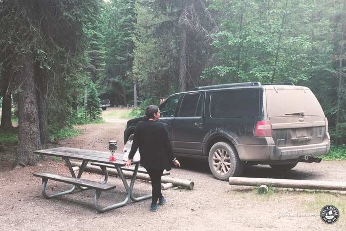 Gratis Camping BLM Campground