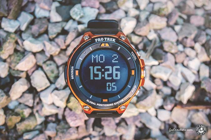 Pro Trek Smart WSD-F20 Orange