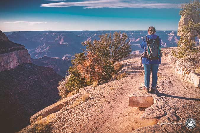 Grand Canyon Wanderung ein Tag