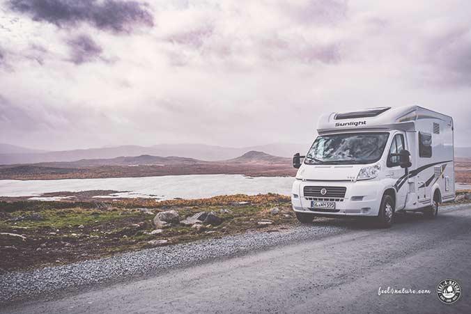 Campingurlaub Route