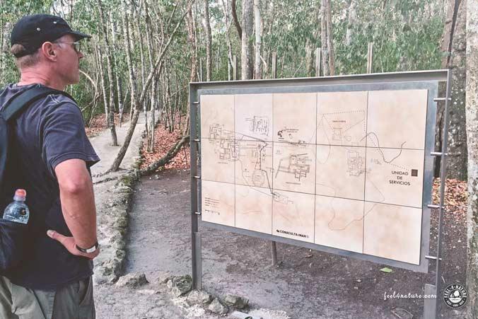Maya Ruinen Calakmul