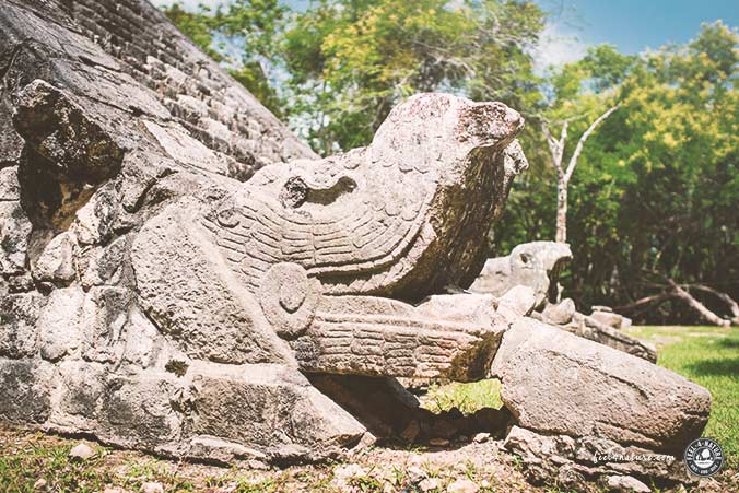 Maya Ruinenstadt Chichen Itza