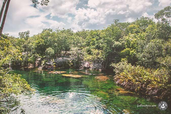 Maya Stadt Cenote