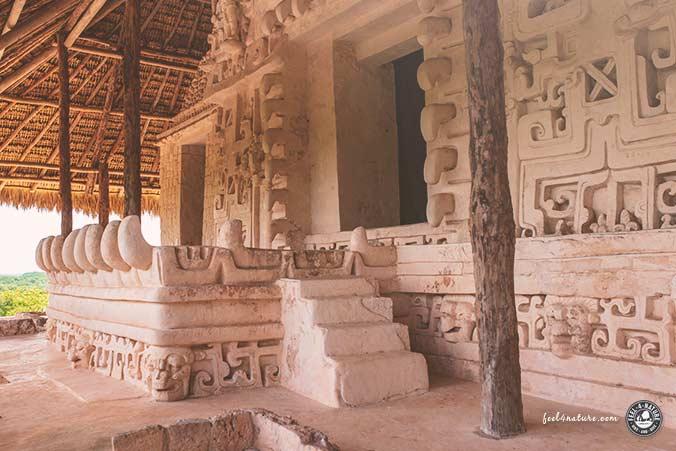 Maya Stadt Restauration