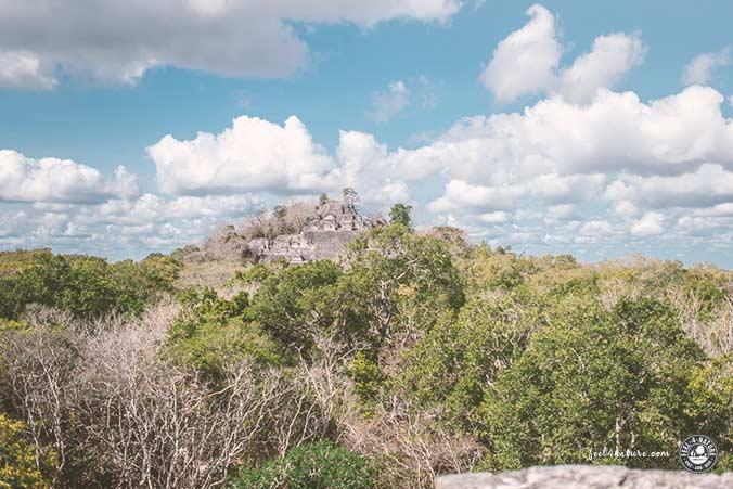 Maya Tempel Calakmul