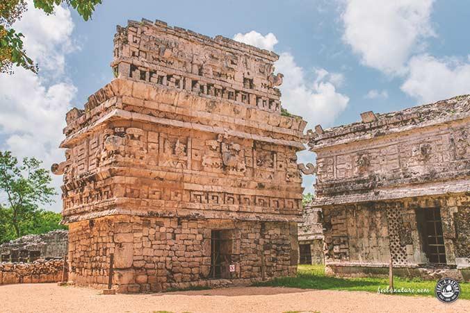 Maya Tempel geschlossen