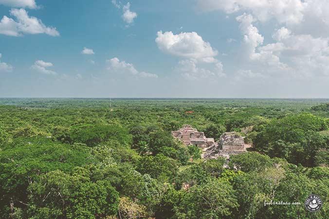Pyramiden Mexiko Ausblick