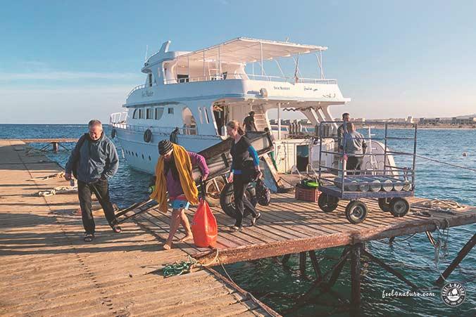 Ägypten Urlaub Bootstour