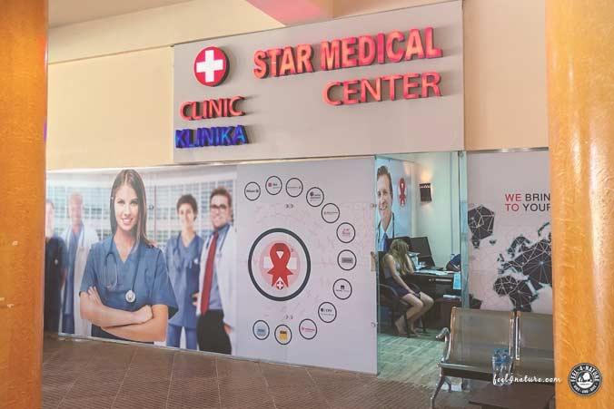Ägypten Urlaub Krankenhaus