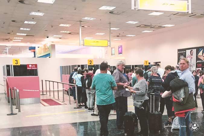 Ägypten Visum Passkontrolle