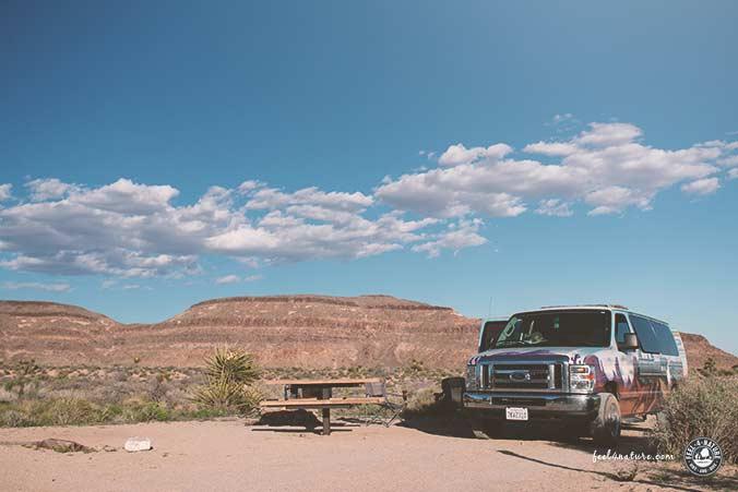 Campground Mojave National Preserve