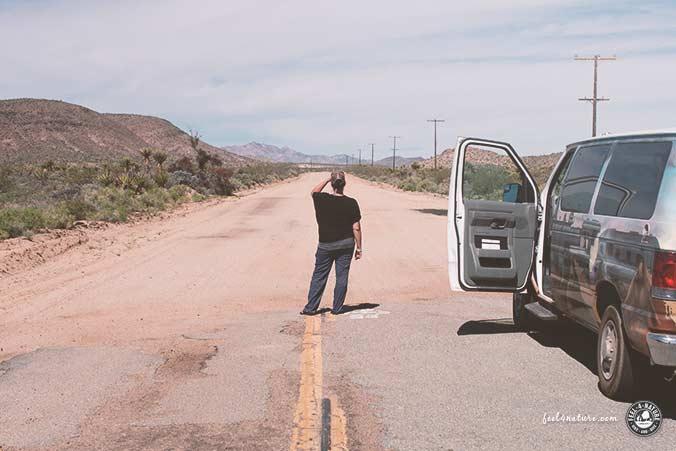 Mojave NP Gravel Roads