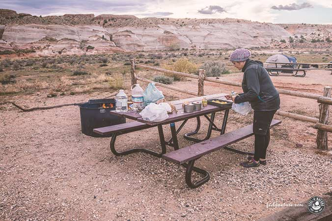 Camping Checkliste Grundausstattung