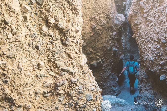 Death Valley Sidewinder Canyon