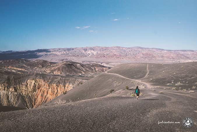 Ubehebe Crater Rundwanderung