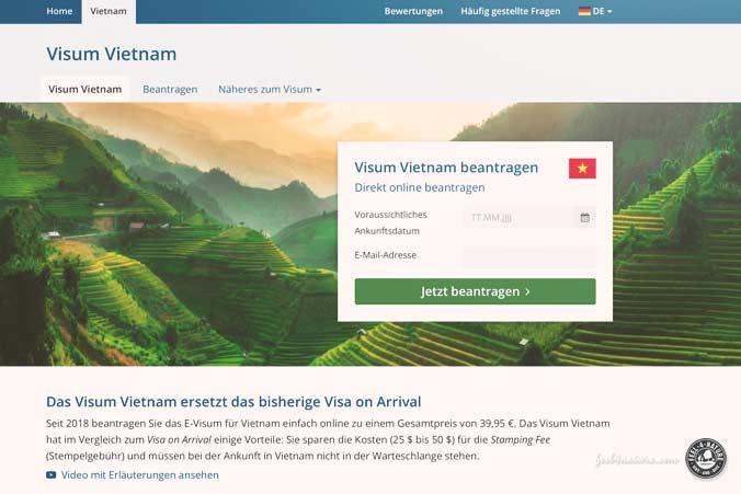 Vietnam Visum Agentur
