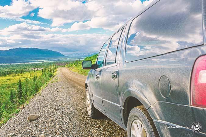 Alaska Sehenswürdigkeiten Strassen