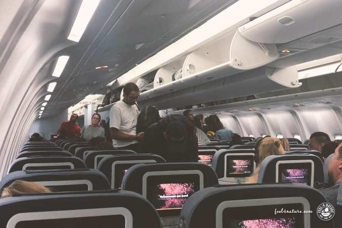 Handgepäck Flugzeug